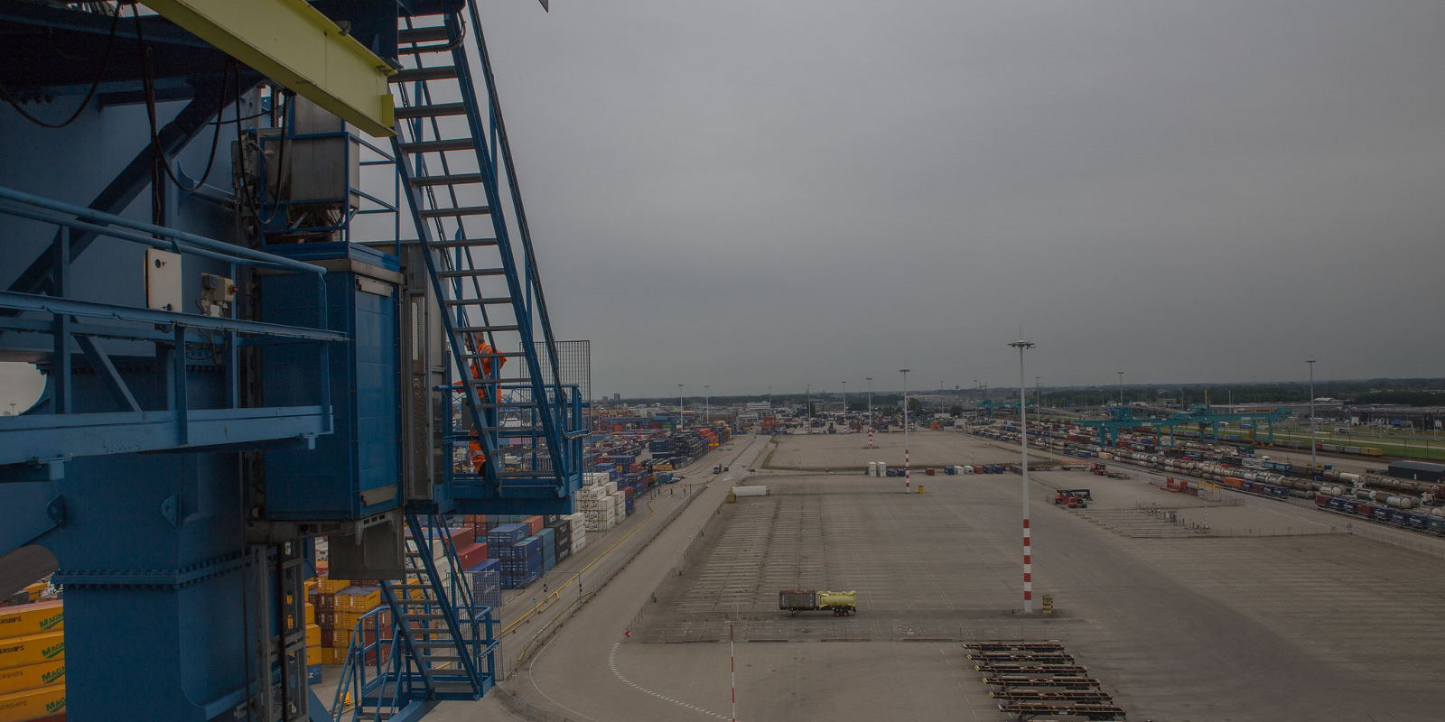 Scanclimber serving at Europe's largest port