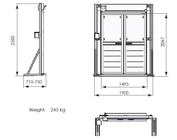 Scanclimber Constructions Hoists Technical Data Overviews