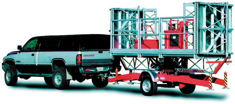 Educa SC1000 with trailer chassis