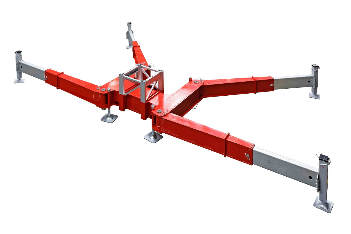 Heavy Duty Chassis & Mast Section